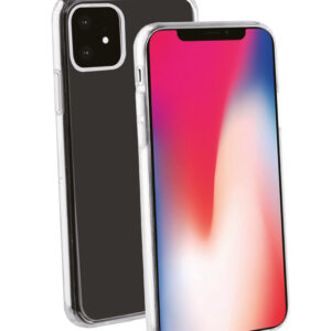 Fleksibelt bagcover iPhone 11 Klar