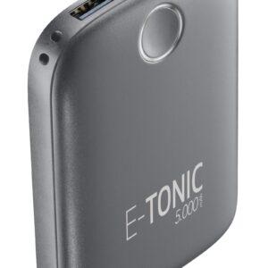 E-Tonic USB-C Power Bank 5.000mAh Sort