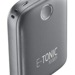 E-Tonic USB-C Power Bank 10.000mAh Sort