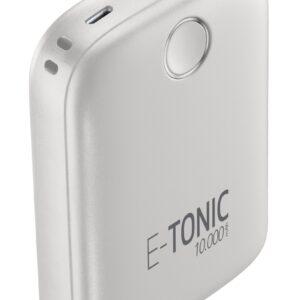 E-Tonic USB-C Power Bank 10.000mAh Hvid